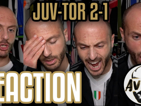 Juventus-Torino 2-1 live reaction ||| Avsim Live