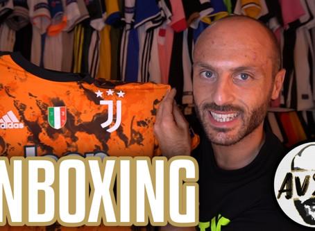 Unboxing Juventus third authentic 2020/2021 ||| Avsim Unboxing