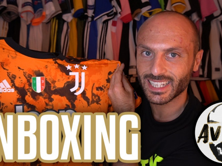 Unboxing Juventus third authentic 2020/2021 ||| Avsim Unboxing