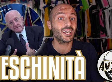De Luca attacca Agnelli ma dice inesattezze su Juventus-Napoli ||| Avsim Zoom