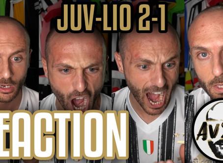 Quasi in lacrime per l'eliminazione. Juventus-Lione 2-1 live reaction     Avsim Live