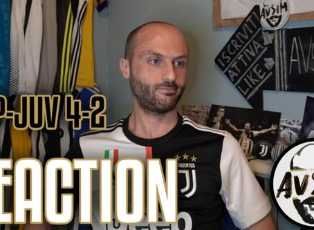 Napoli-Juventus 4-2 Coppa Italia live reaction     Avsim Live