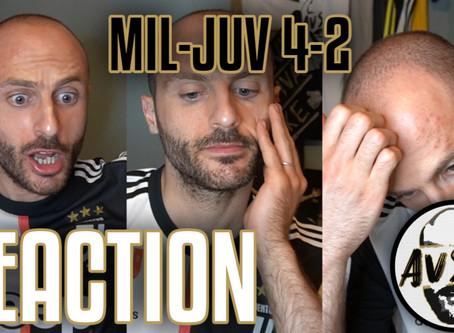 Che gol Rabiot! Poi il disastro... Milan-Juventus 4-2 live reaction     Avsim Live