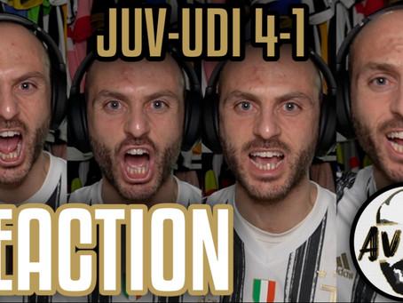 Juventus-Udinese 4-1 live reaction ||| Avsim Live