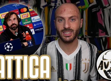 Juventus-Barcellona: formazioni, tattica, le parole di Pirlo ||| Avsim Prepartita