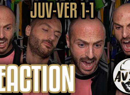 Juventus-Verona 1-1 live reaction     Avsim Live