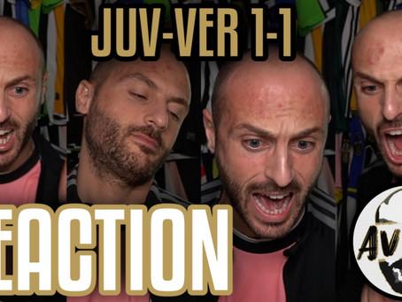 Juventus-Verona 1-1 live reaction ||| Avsim Live