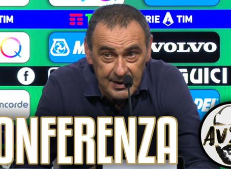 """Sarri post Sassuolo-Juventus 3-3: """"Prendiamo gol in momenti di passività"""""""