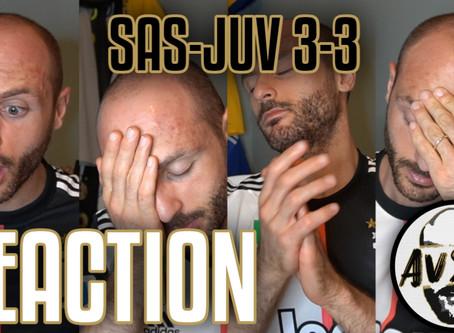 Profondo imbarazzo. Sassuolo-Juventus 3-3 live reaction     Avsim Live