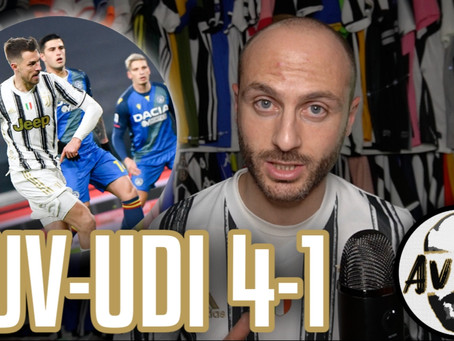 3 punti ma dobbiamo crescere ||| Avsim Post Juventus-Udinese 4-1