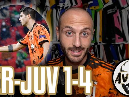 Fin troppo facile, ma ancora difettosi. Super Morata     Avsim Post Ferencvaros-Juventus 1-4