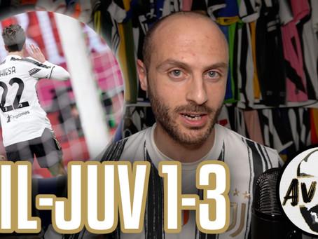 Comincia la scalata! Che bella Juve! Super Chiesa! ||| Avsim Post Milan-Juventus 1-3