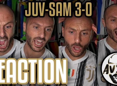 Juventus-Sampdoria 3-0 live reaction     Avsim Live