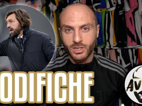 Pirlo Tactics: Juventus-Sassuolo 3-1 ||| Avsim Tattica