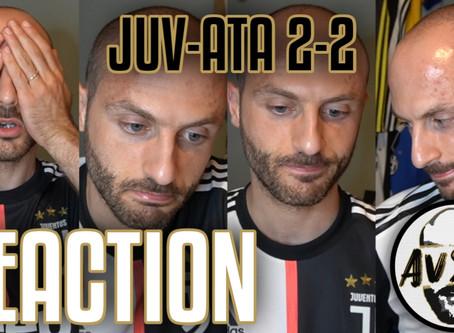 Non esulto sui gol di Ronaldo. Juventus-Atalanta 2-2 live reaction     Avsim Live