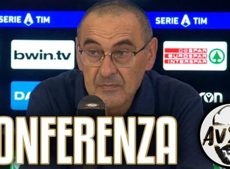 "Sarri post Udinese-Juventus 2-1: ""Per vincerla abbiamo perso ordine"""