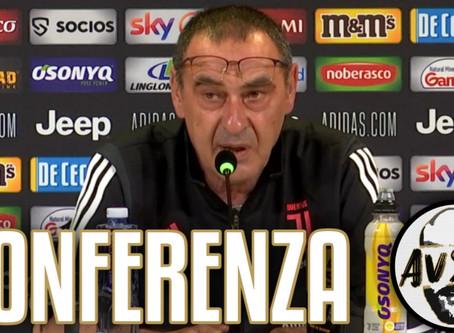 "Sarri pre Juventus-Torino: ""Dybala e Ronaldo giocano più vicini"""