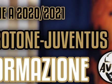 Sondaggio formazione Crotone-Juventus Serie A ||| Avsim Dibattito