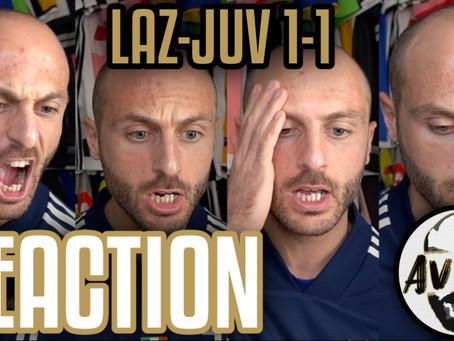 Lazio-Juventus 1-1 live reaction ||| Avsim Live