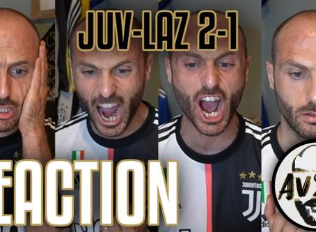 Col fiato sospeso fino alla fine. Juventus-Lazio 2-1 live reaction     Avsim Live
