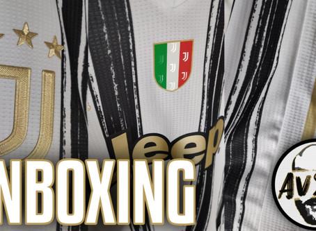 Unboxing Juventus home authentic 2020 2021 ||| Avsim Unboxing
