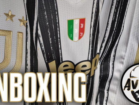 Unboxing Juventus home authentic 2020 2021 ||| Avsim Unboxing