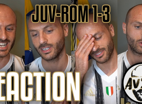 Danilo gioca per gli avversari. Juventus-Roma 1-3 live reaction     Avsim Live