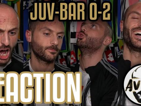 Juventus-Barcellona 0-2 live reaction ||| Avsim Live