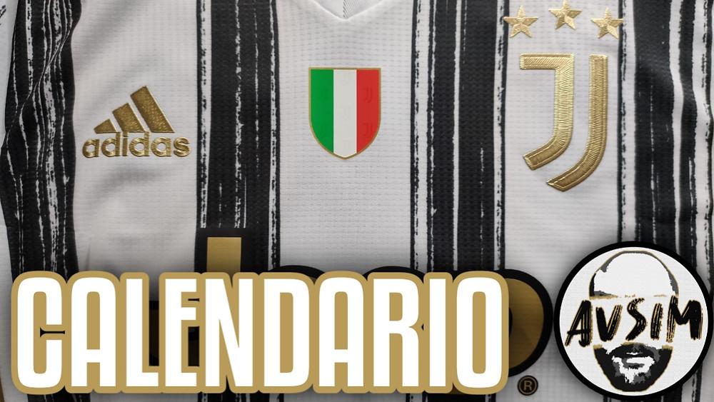 Il calendario della Juventus in Serie A e Champions League 2020/2021