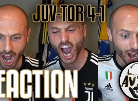 Ronaldo gol su punizione! Juventus-Torino 4-1 live reaction     Avsim Live