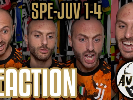 Spezia-Juventus 1-4 live reaction ||| Avsim Live