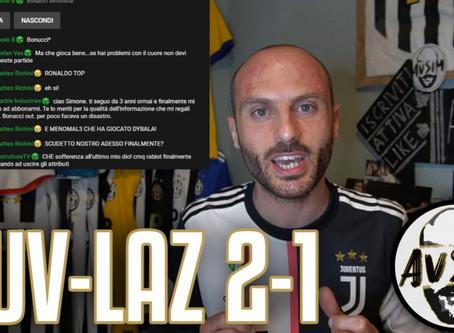 Scudetto loading... Ronaldo fenomeno. Bonucci horror ||| Avsim Post Juventus-Lazio 2-1