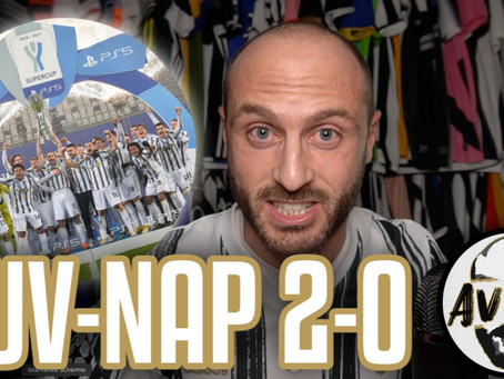 SI VINCE SUL CAMPO! SUPERCAMPIONI FINO ALLA FINE!     Avsim Post Juventus-Napoli 2-0