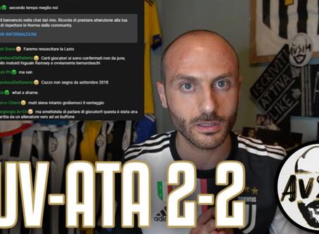 Pareggio immeritato. Juve assente. Atalanta superiore ||| Avsim Post Juventus-Atalanta 2-2
