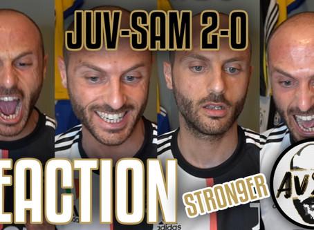 L'emozione dello scudetto! Juventus-Sampdoria live reaction     Avsim Live