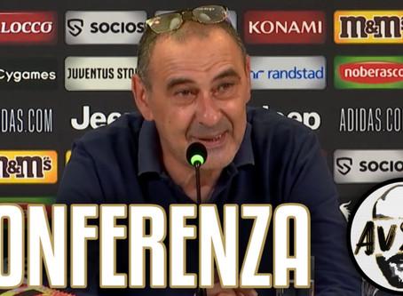 """Sarri post Juventus-Sampdoria 2-0: """"È stato uno dei campionati più difficili"""""""