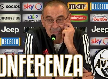 "Sarri pre Udinese-Juventus: ""Dobbiamo rimanere sul pezzo"""