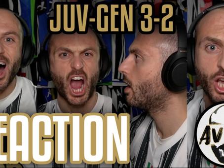 Juventus-Genoa 3-2 AET Coppa Italia live reaction ||| Avsim Live