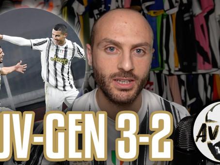 Solita Juve supponente. Sofferenza inaccettabile ||| Avsim Post Juventus-Genoa 3-2