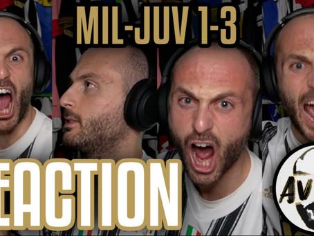 Milan-Juventus 1-3 live reaction ||| Avsim Live