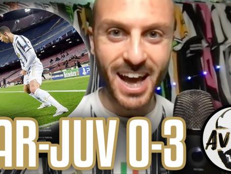 Finalmente la Juve europea! Ronaldo G.O.A.T.     Avsim Post Barcellona-Juventus 0-3