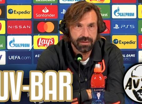 """Pirlo pre Juventus-Barcellona: """"Speriamo di poter valutare Ronaldo titolare"""""""
