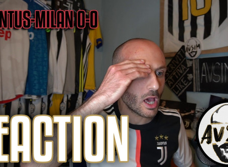 Juventus-Milan 0-0 Coppa Italia live reaction     Avsim Live
