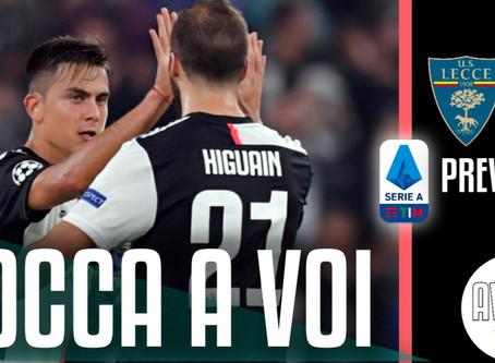 A Lecce senza Ronaldo. Partita aperta ||| Avsim Prepartita Lecce-Juventus