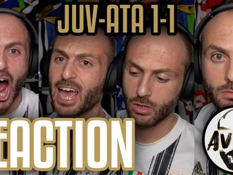 Juventus-Atalanta 1-1 live reaction ||| Avsim Live