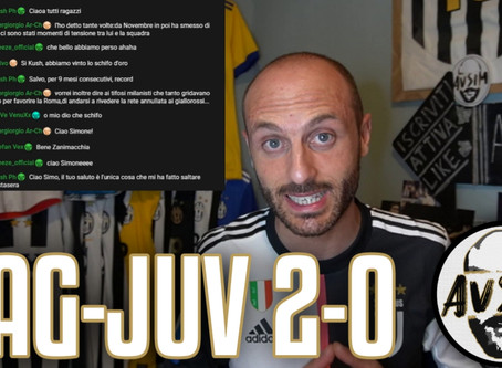 Male tutti, tranne i giovani. Squadra preoccupante ||| Avsim Post Cagliari-Juventus 2-0