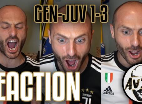 Dybala, Ronaldo, Douglas Costa: Genoa-Juventus 1-3 live reaction     Avsim Live