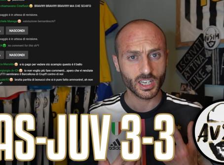 Pessima Juve surclassata dal Sassuolo. Non si vince più ||| Avsim Post Sassuolo-Juventus 3-3