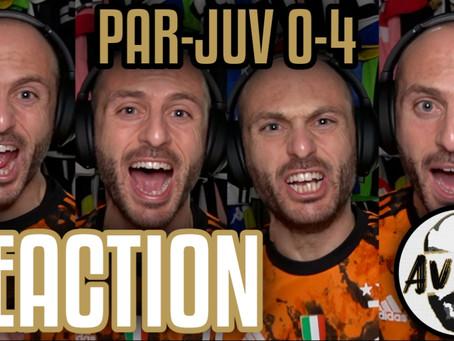 Parma-Juventus 0-4 live reaction ||| Avsim Live