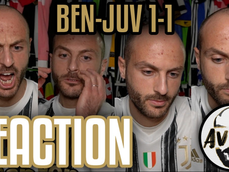 Benevento-Juventus 1-1 live reaction ||| Avsim Live